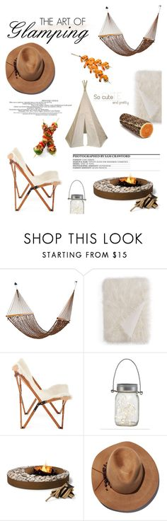 """Let's Go Glamping!"" by samanthasade ❤ liked on Polyvore featuring interior, interiors, interior design, home, home decor, interior decorating, Hudson Park, Eugenia Kim and SAM"