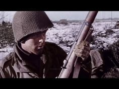 1944-45 Battle of the Bulge - US Footage Only my dad pull his side arm  and took them he they took  his feet off he would shot them and they didn't