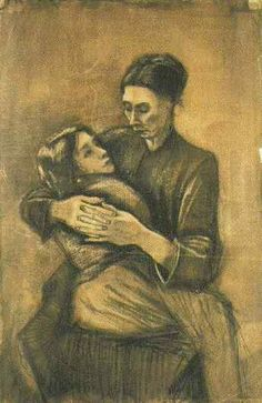 Vincent van Gogh: Woman with a Child on Her Lap, The Hague: March-April, 1883 (Amsterdam, Van Gogh Museum)