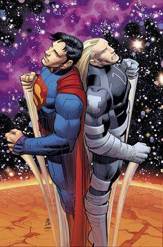 Superman 35 John Romita Jr variant.