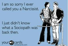 What's A Sociopath, Narcissist Memes, Narcissistic Husband, Best Defense, Crazy Ex, Dont Look Back, I Am Sorry, Power Of Positivity, Important Facts