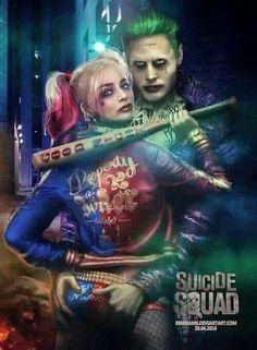 Imagem de harley quinn, the joker, and margot robbie Gotham city Der Joker, Joker Und Harley Quinn, Margot Robbie Harley Quinn, Kings & Queens, Daddys Lil Monster, The Villain, Jared Leto, Comic Character, Comic Art