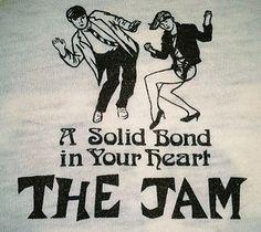 Rare Vintage 1982 THE JAM 50 50 Paul Weler Rock Punk Tour Concert Clash T Shirt | eBay