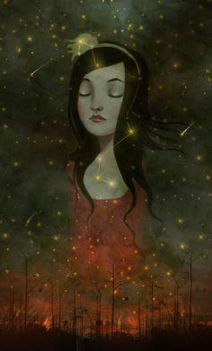 Dream a little dream, sweet girl.... xxooo  Mama ✯ meluseena's .. by ~Meluseena✯