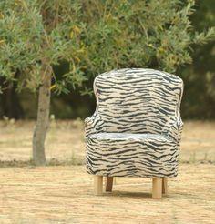 Mariantonieta cebra. www.arpillera.es