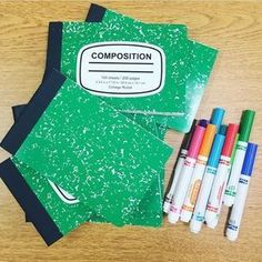 50 AMAZING Teacher Hacks Cut composition notebooks in half for double the quantity. Even better, visit your local Home Depot and they'll do it for you! Teacher Organization, Teacher Tools, Teacher Hacks, Teacher Resources, Teacher Stuff, Resource Teacher, Teachers Aide, Teachers Corner, Teacher Education