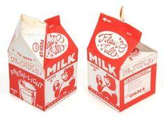 Milk carton design by Chris von Szombathy