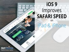 Safari speed on iPad is set to increase with iOS 9. New content blocking promises faster browsing, improved battery life and lower data usage. Ipad Ios, Ipod Touch, Safari, Web Design, Content, Iphone, Tips, Design Web, Website Designs