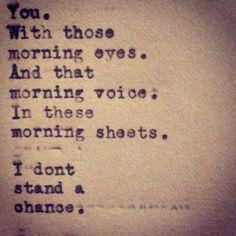 Mornings.