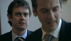 "Caledonian Mafia.... (Paul Higgins and Peter Capaldi in ""The Thick of It"")"