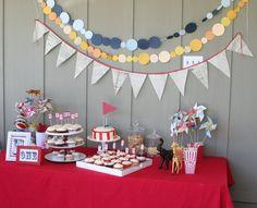 anniversaire adulte: idée de décoration du buffet