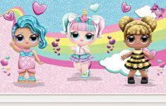 Painel de Festa Redondo Tecido Casinha Boneca Lol no Soap Images, Cupcake Toppers Free, Thankful Tree, Butterfly Background, Nails For Kids, Doll Party, Chip Bags, Bottle Cap Images, Ideas Para Fiestas