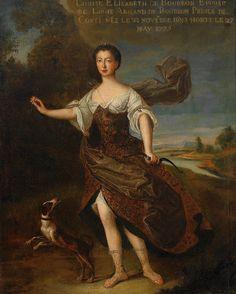 Posthumous portrait of Louise Élisabeth de Bourbon, 1775