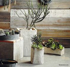 Roost Rustico Planters