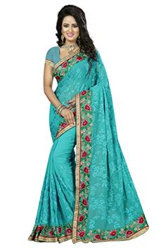 Shoppingover Indian Traditional Saree with Blouse in Geor... https://www.amazon.com/dp/B01MZ5AI0S/ref=cm_sw_r_pi_dp_x_T6kCyb1Z6KQD6