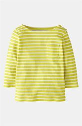 In blue - matches Addy's eyes.  Mini Boden 'Stripy' Boatneck Tee (Toddler, Little Girls & Big Girls) available at Nordstrom.