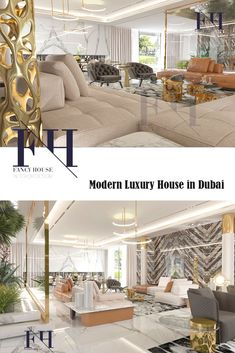 The Living Room Interior Design Is Created By Best Desingners Of Fancy House  Design Company In Dubai