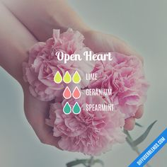 Open Heart - Essential Oil Diffuser Blend