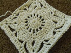Willow Block shown row by row. No written directions. Finished Block