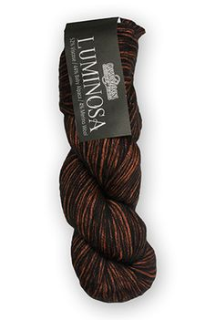 Cascade Luminosa - o.m.g. beautiful luminous rayon colors peeking through soft black halo with baby alpaca and a touch of wool. Yum!