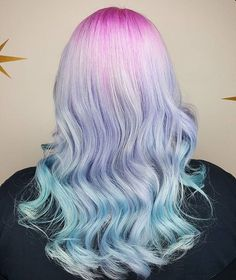 @hairbymisskellyo is the artist... Pulp Riot is the paint.