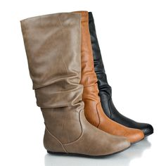 Soda Women's Mid-Calf PU *** Startling review available here  : Knee high boots