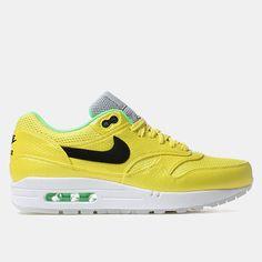 buy online 63e53 48467 Nike Air Max 1 Fb Premium Qs Shoes - Vibrant Yellow Nike Tennis Shoes, Nike