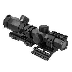 Octagon Scope - 1.1-4X20-P4 Sniper-Green Lens