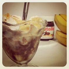 Nutella Banana Pudding