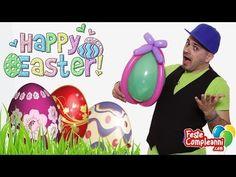 Palloncino Uovo di Pasqua - Easter Egg Balloon - balloon art. Sculture di palloncini come decorazione per Pasqua 2014  Uovo di Pasqua - Scultura con Palloncini - Prepariamo questa Pasqua con una scultura  di palloncini veramente speciale. Realizziamo un Uovo di Pasqua con i palloncini modellabili.