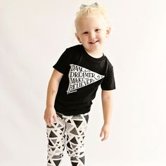 Day Dreamer | unisex kid's tees by Root Avenue