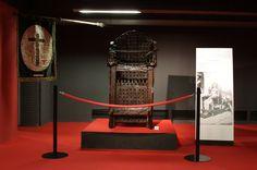 Instrumentos de tortura utilizados pela Santa Inquisição foram trazidos da Itália e ficam em exposição até dia 6 de outubro.