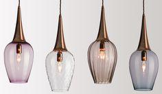 FLODEAU.COM - Handblown Glass Lighting by Rothschild  Bickers 08