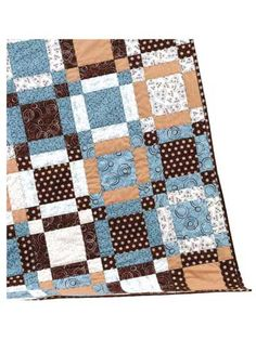 Happy Daze Quilt Pattern  What a nice name for a quilt.  I hope the one who gets it has all happy days
