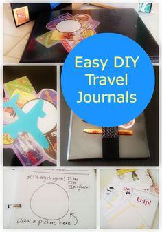 Easy DIY Travel Journals for Kids
