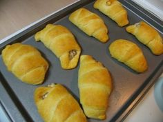 Sausage Cream Cheese Crescents  I had these at my Niece's home on Easter.  They are great and look easy to make!