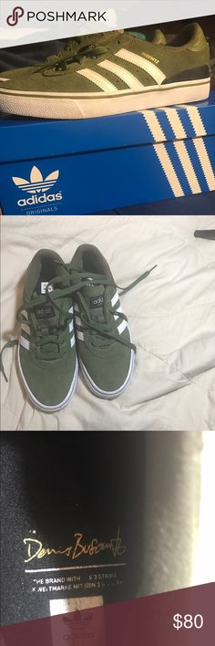7bc1db566b Green and White BUSENITZ VULC ADV SHOES Only worn a couple of times. In very