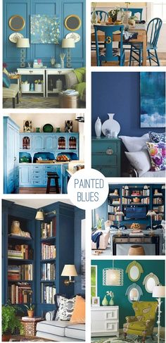 Painted Blues by Censational Girl. Desk Color? Wall Color?