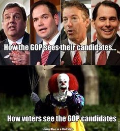 True Enough!  Can't Wait For The Laughs...  Sometimes These Clowns Make My Day.  WHAT A HOOT!  BOOM, BOOM, BOOM...