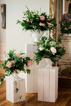 Need wedding ideas? Check out this rustic ceremony decor and see more inspirational photos on TheKnot.com.