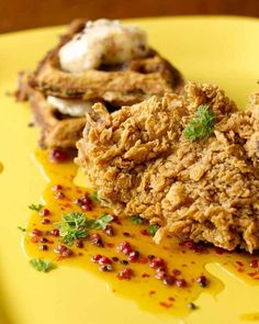 Happy National Fried Chicken Day!  Bobby Flay's Fried Chicken and Waffles: A Recipe with Soul