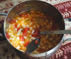 Feel like eating something flavorful and satisfying, but not heavy? Stewed haricot beans answer your hunger - and they're easy to make. A hearty vegetarian