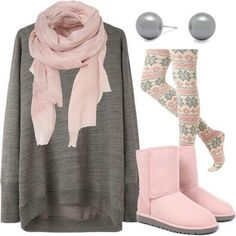 this teenage fashion outfit is perfect for the winter or fall!