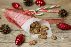 Recept na ořechy v karamelu - Supr bydlení Crepes, Sweets Images, Spiced Nuts, Healthy Holiday Recipes, Walnut Recipes, Free Candy, Best Candy, Christmas Countdown, Cheesecake Recipes
