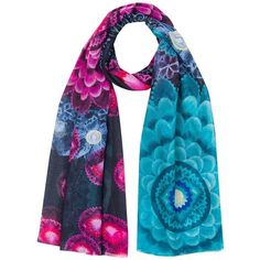 Desigual Women s Bollywood Woven Rectangular Foulard Scarf ( 39) ❤ liked on  Polyvore featuring accessories, scarves, desigual, braided scarves, ... 4ff615f5bdd