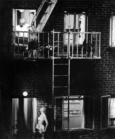 One of my all-time favorites. Rear Window.
