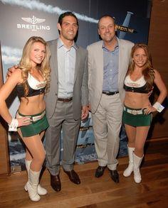 # Chrono Watch Co New York Jets Quarterback and Brand Ambassador for Breitling Mark Sanchez