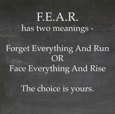 Choose the latter