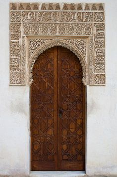 Alhambra (Detail V) by CamR, via Flickr  Granada, Spain
