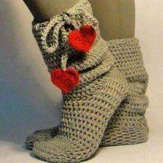 Calseta-botín,crochet.